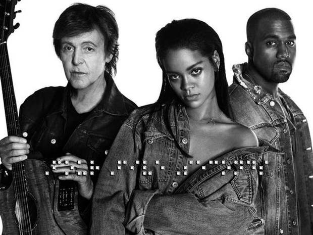 Fourfive Seconds - Rihanna, Kanye West and Paul McCartney